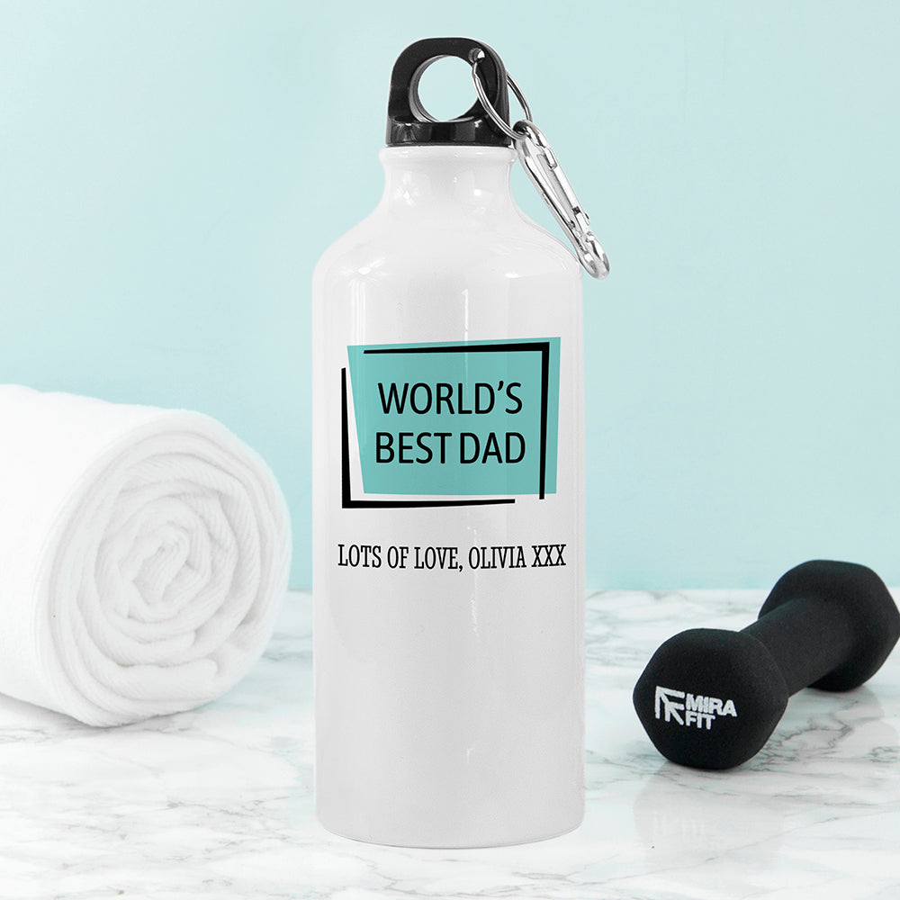Personalised Best... White Water Bottle