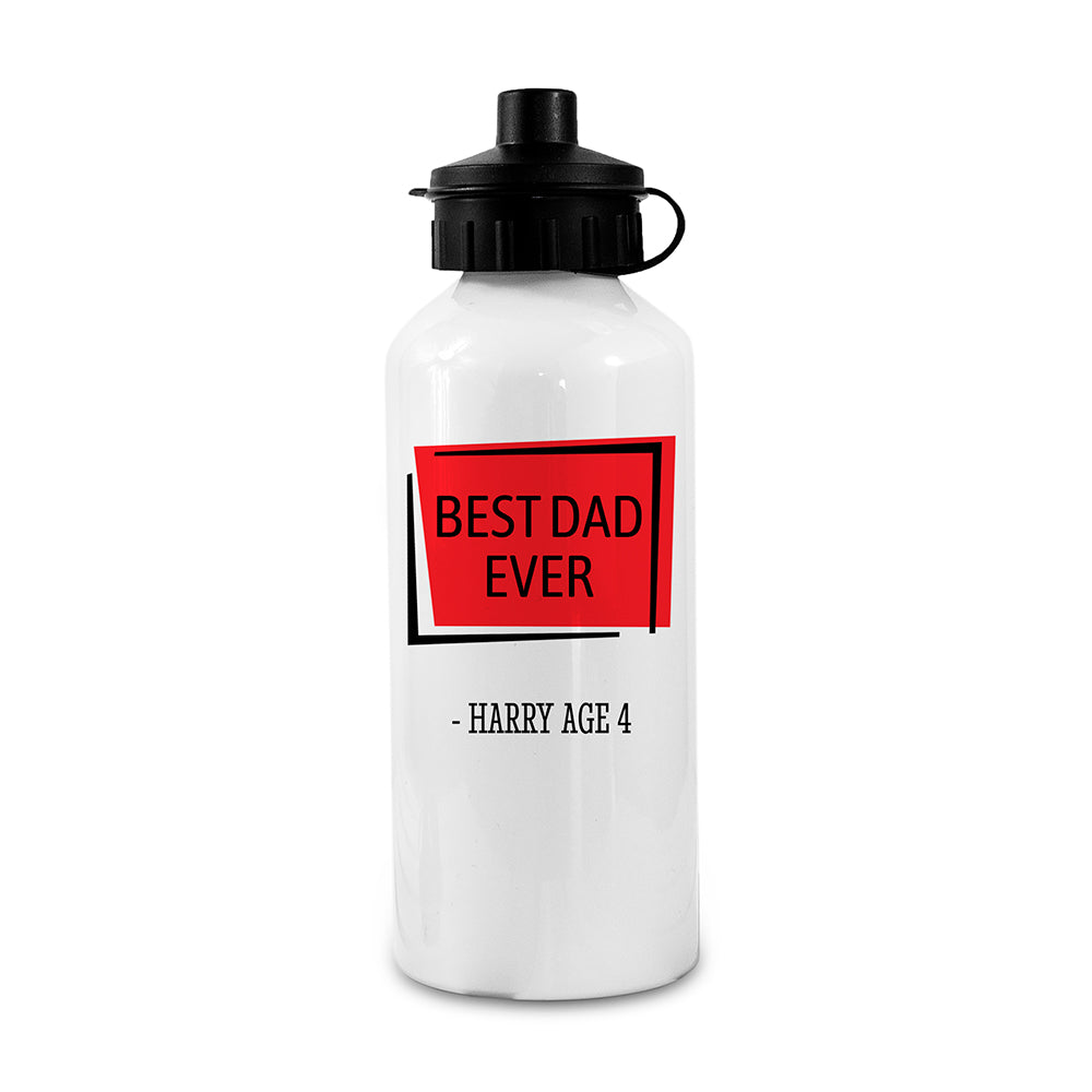 Personalised Best... White Water Bottle - treat-republic