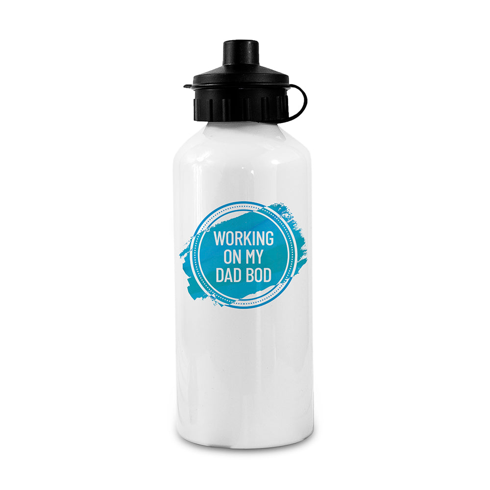 Personalised White Water Bottle - treat-republic