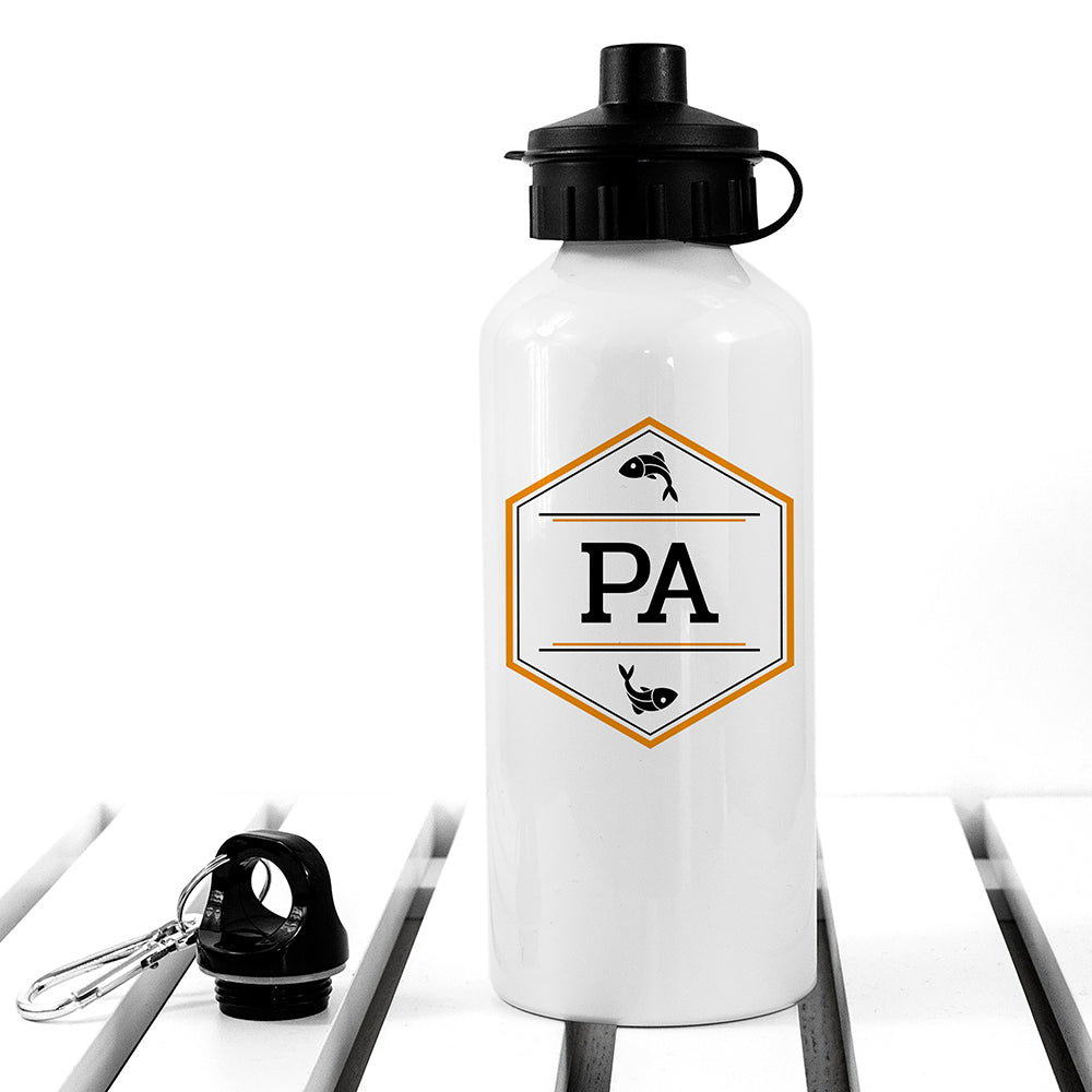 Personalised Iconic Pursuits White Water Bottle - treat-republic