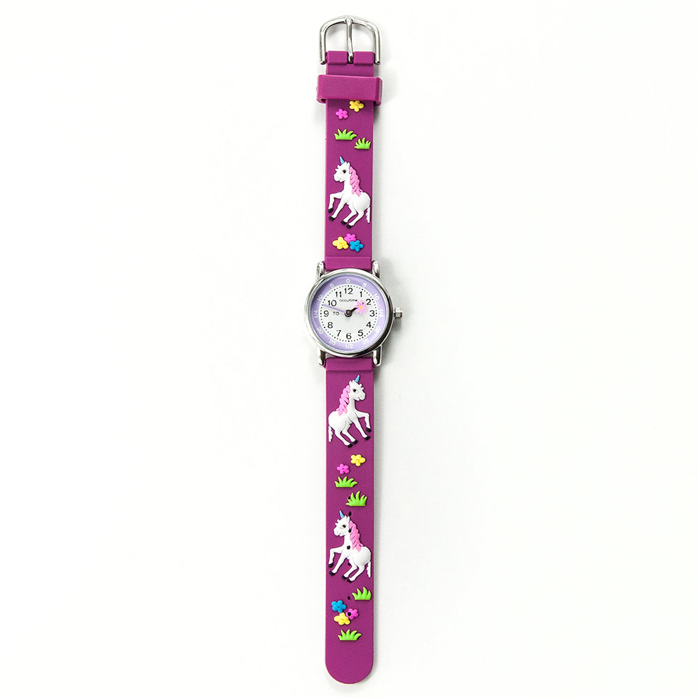 Kids Personalised Unicorn Watch - treat-republic