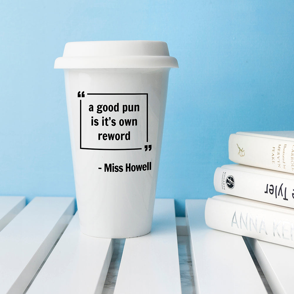 Personalised Words of Wisdom Travel Mug - treat-republic