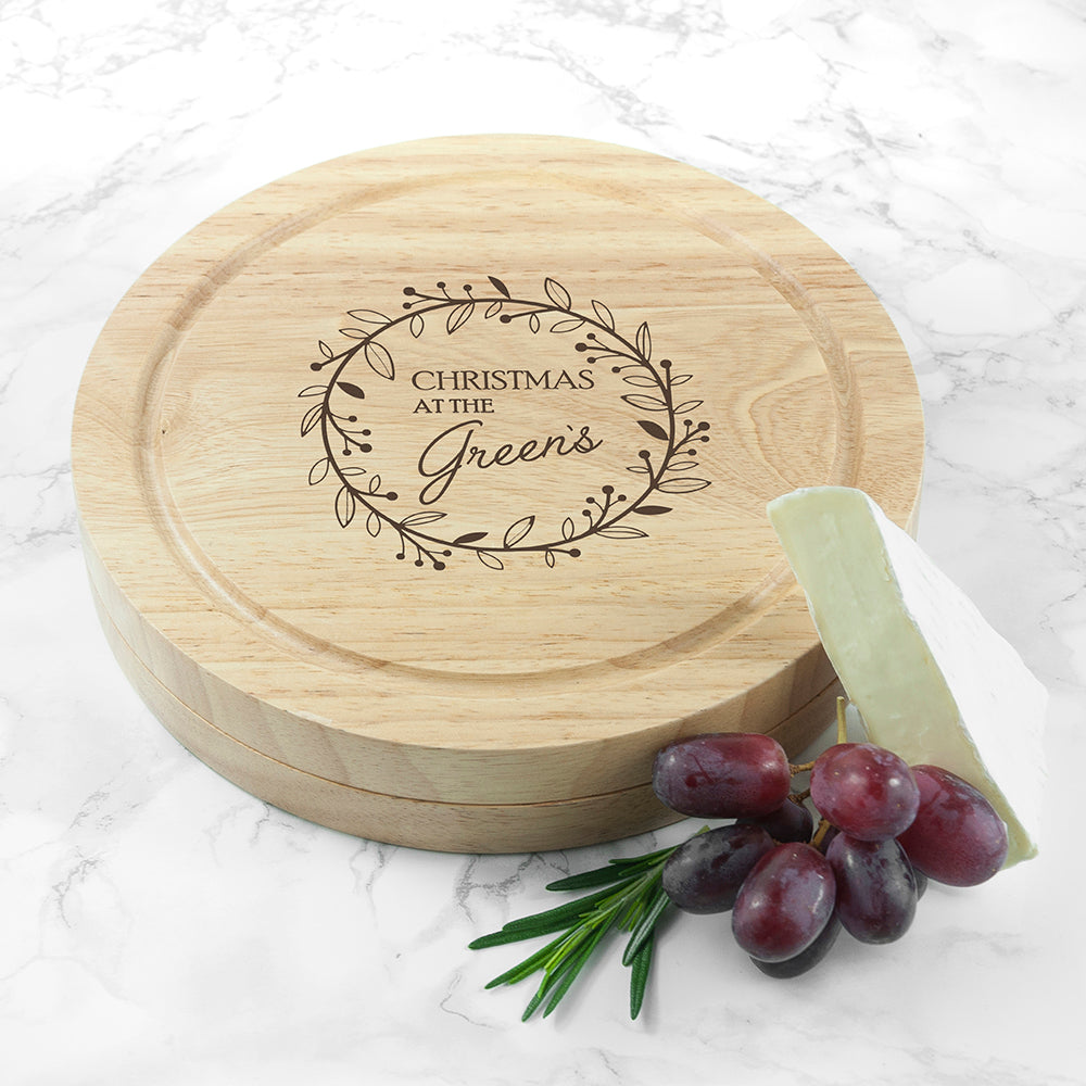 Classic Family Christmas Cheese Set - treat-republic