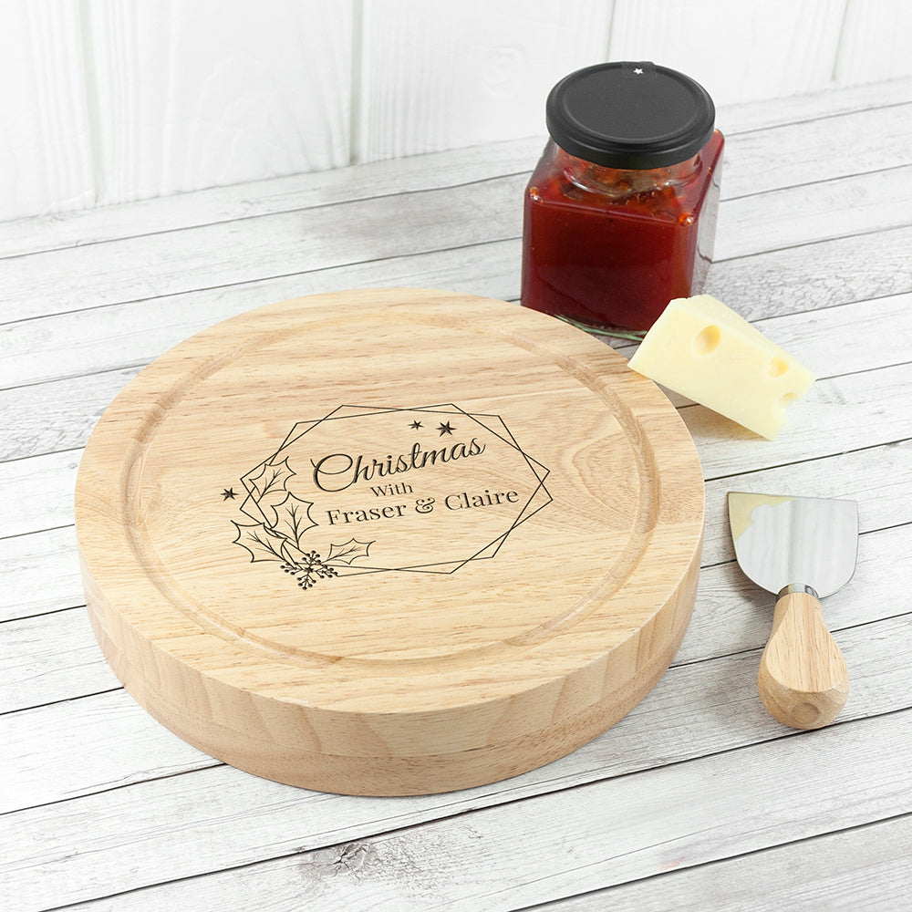 Christmas at Home Cheese Set - treat-republic