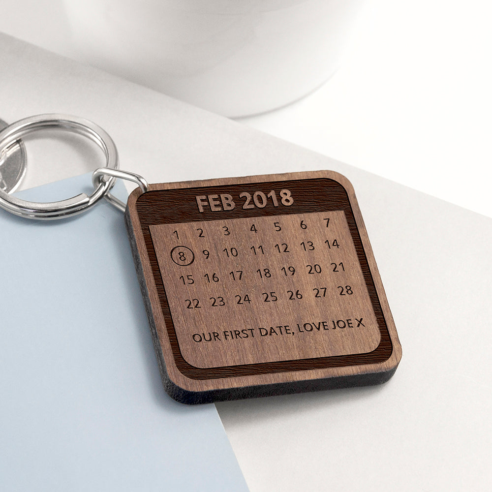 Personalised A Day To Remember Square Keyring - treat-republic