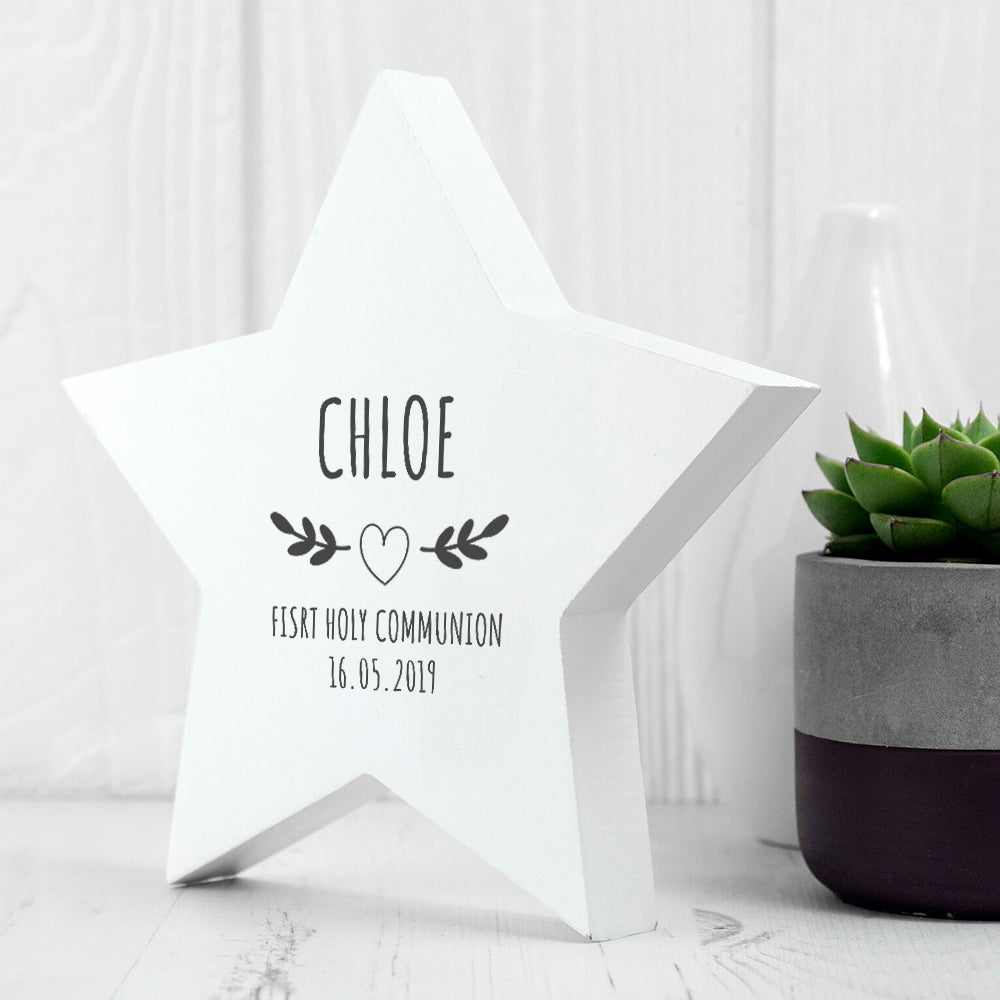 Personalised Christening Wreath Keepsake - treat-republic