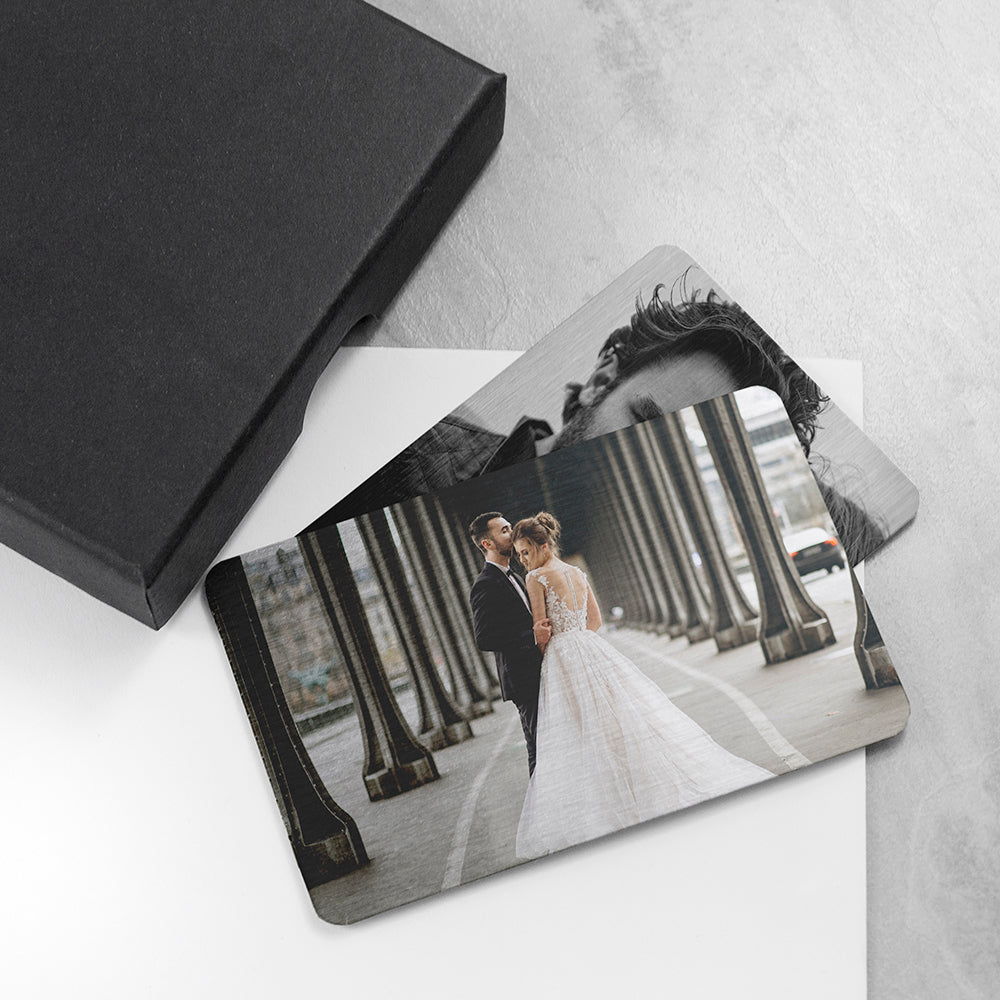 Personalised Favourite Memory Metal Wallet Insert