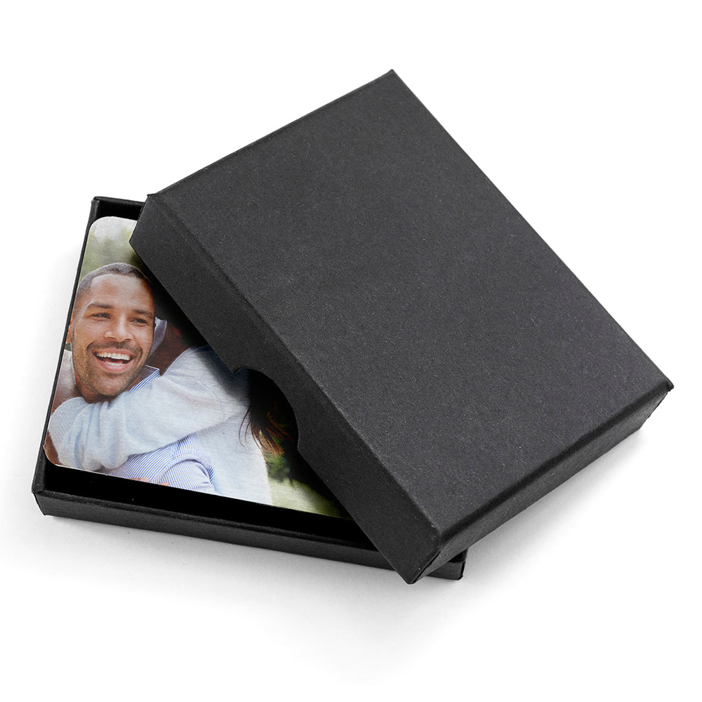 Personalised Favourite Memory Metal Wallet Insert - treat-republic