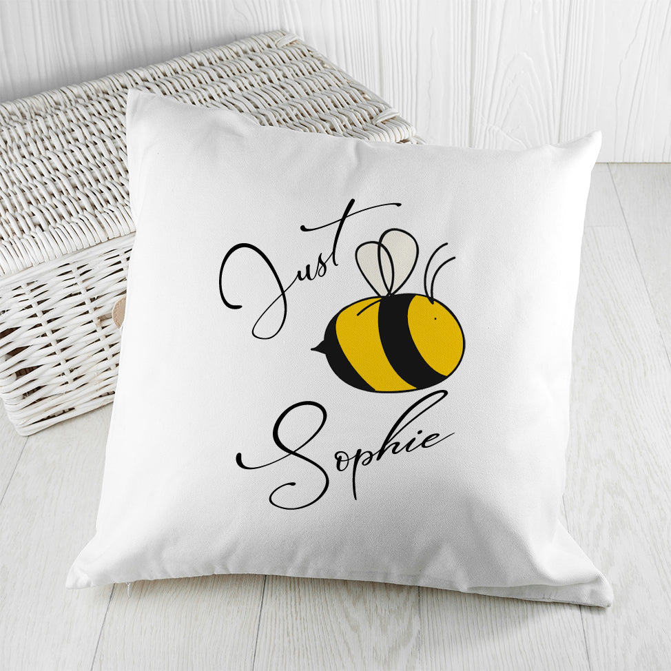 Bee You Cushion Cover - treat-republic