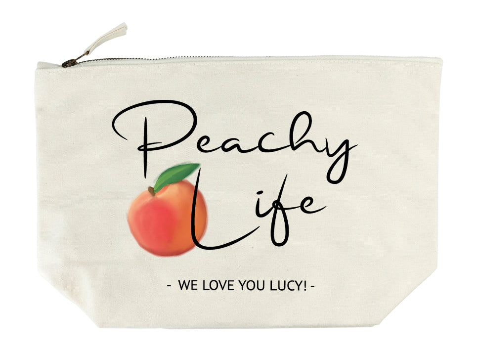 Peachy Life Wash Bag - treat-republic