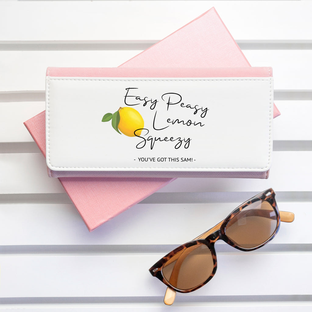 Easy Peasy Lemon Squeezy Pink Wallet - treat-republic