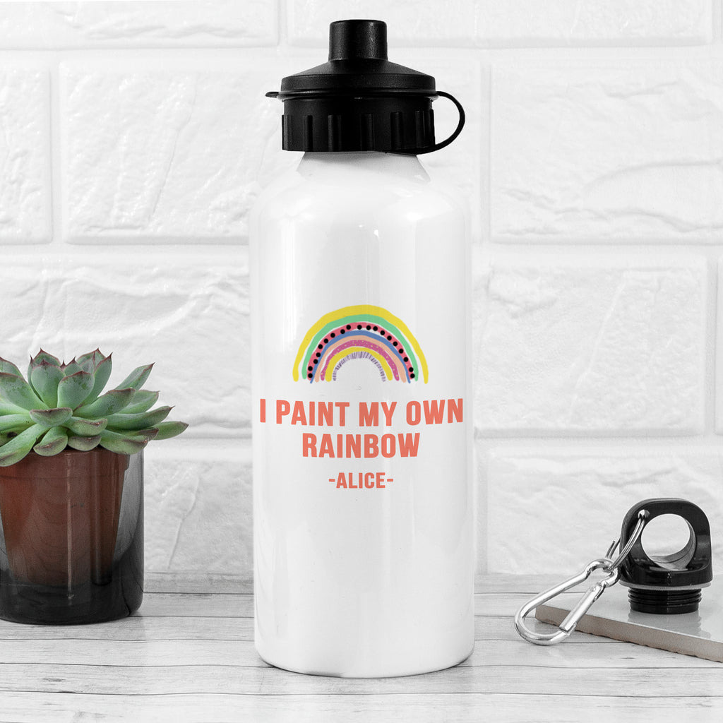 My Own Rainbow White Water Bottle - treat-republic