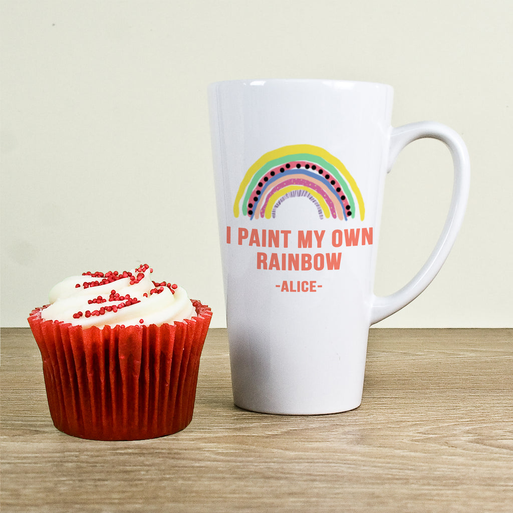 My Own Rainbow Latte Mug - treat-republic