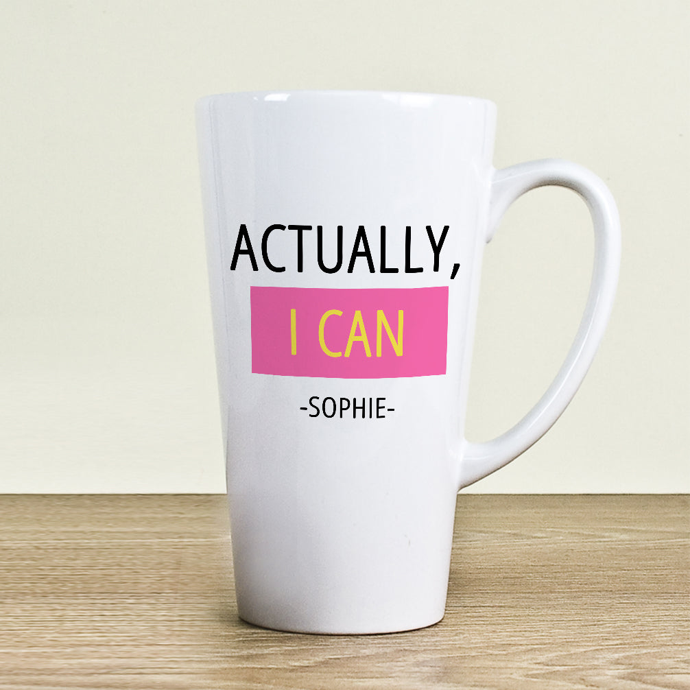 Actually I Can Latte Mug - treat-republic