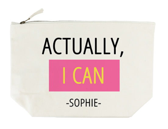 Actually I Can Wash Bag - treat-republic