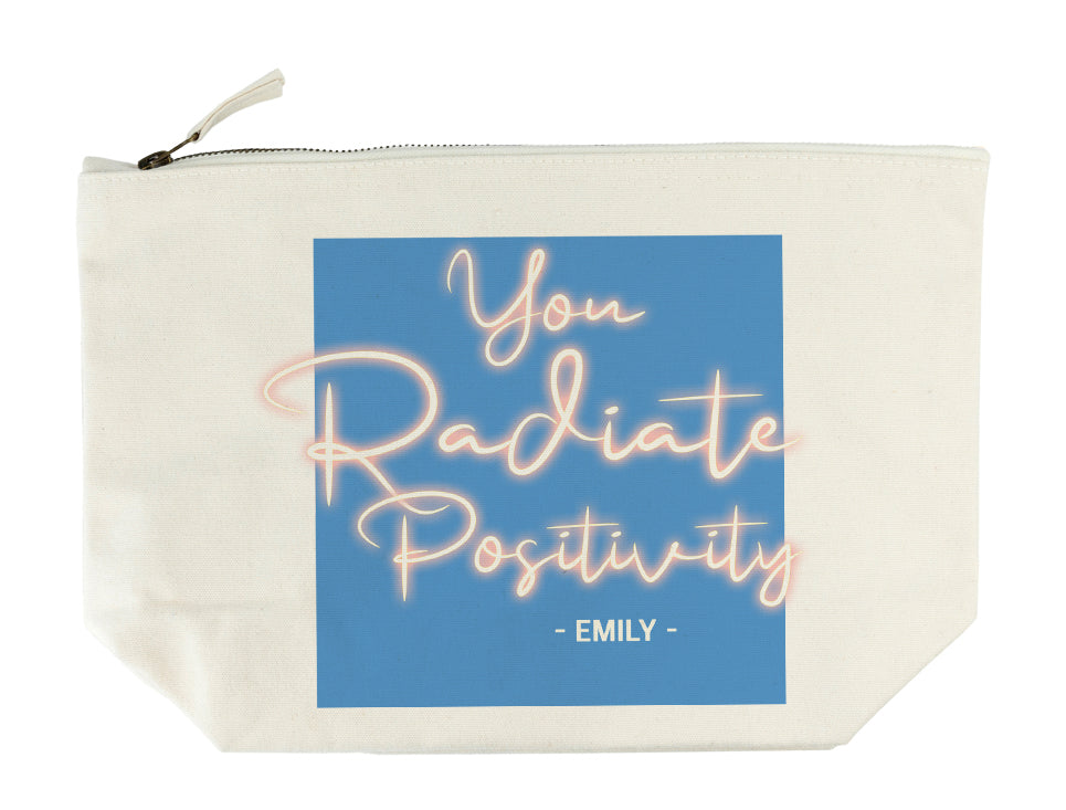 Radiate Positivity Wash Bag - treat-republic