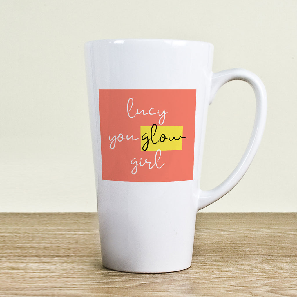 You Glow Girl Latte Mug - treat-republic