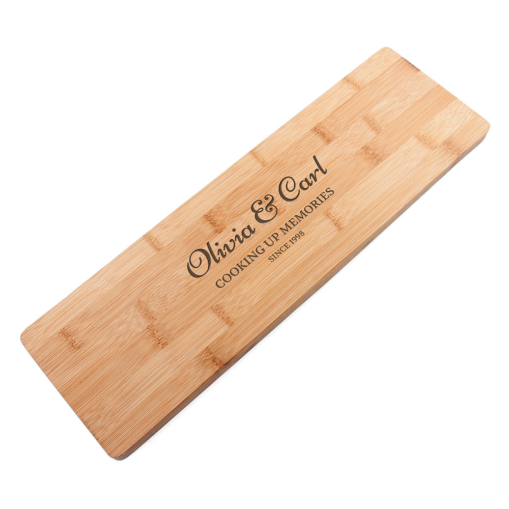 Personalised Anniversary Serving Board - treat-republic