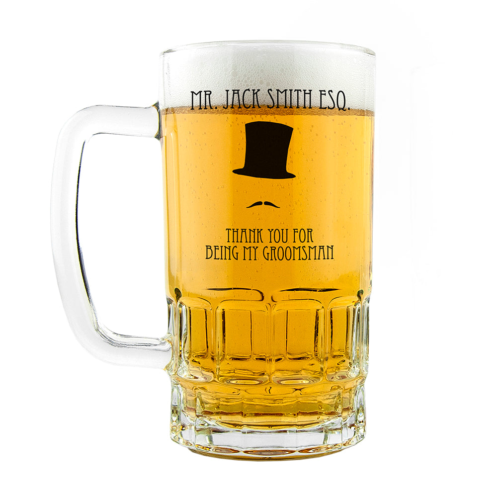 Groomsman Tankard - treat-republic
