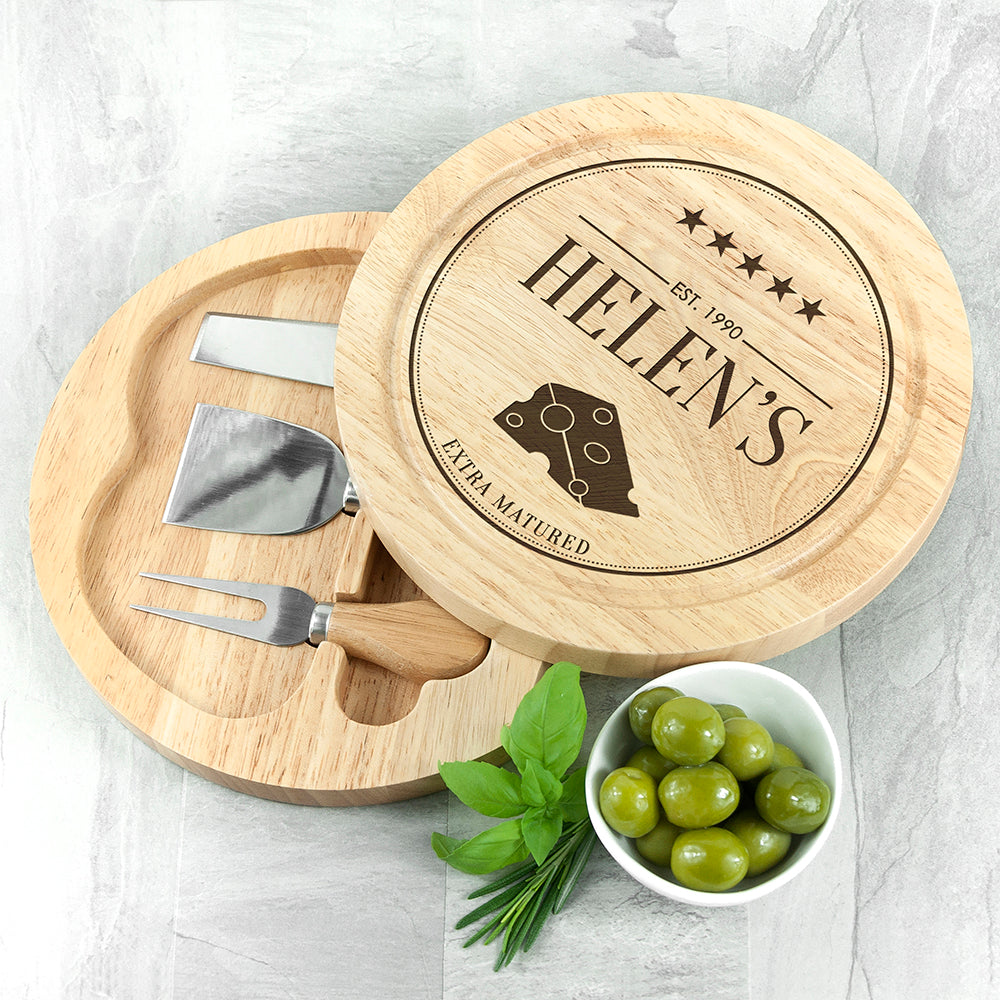 Extra Mature Cheese Board Set - treat-republic
