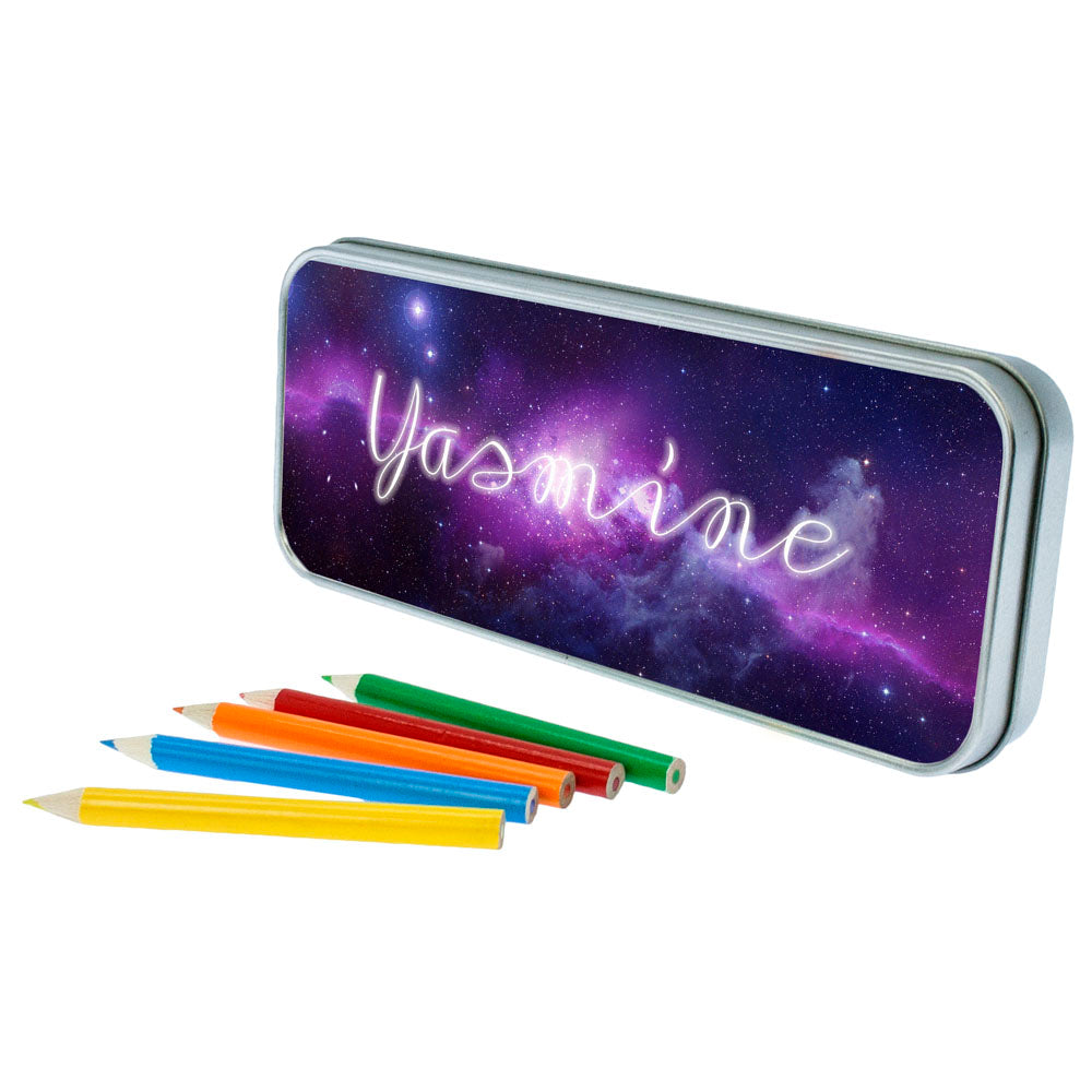 Cosmic Galaxy Pencil Case