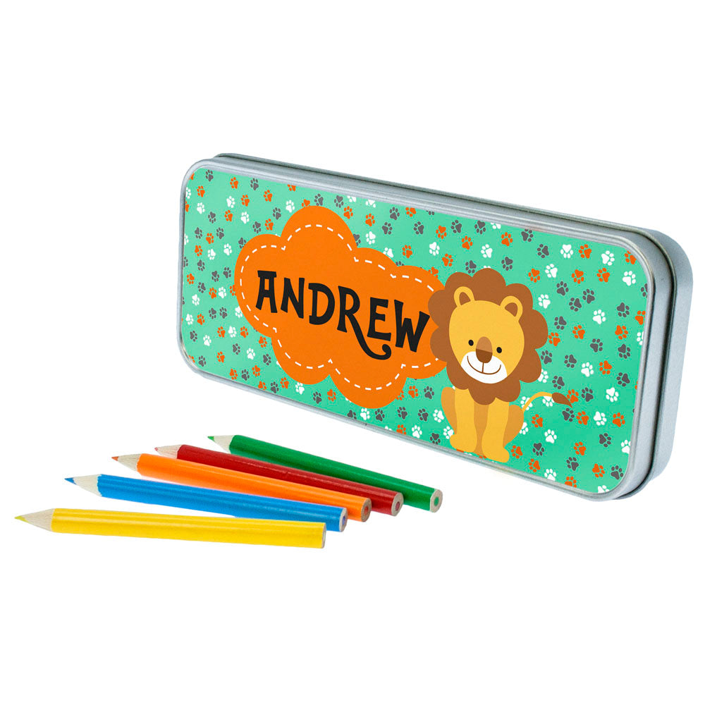 Happy Lion Pencil Case - treat-republic
