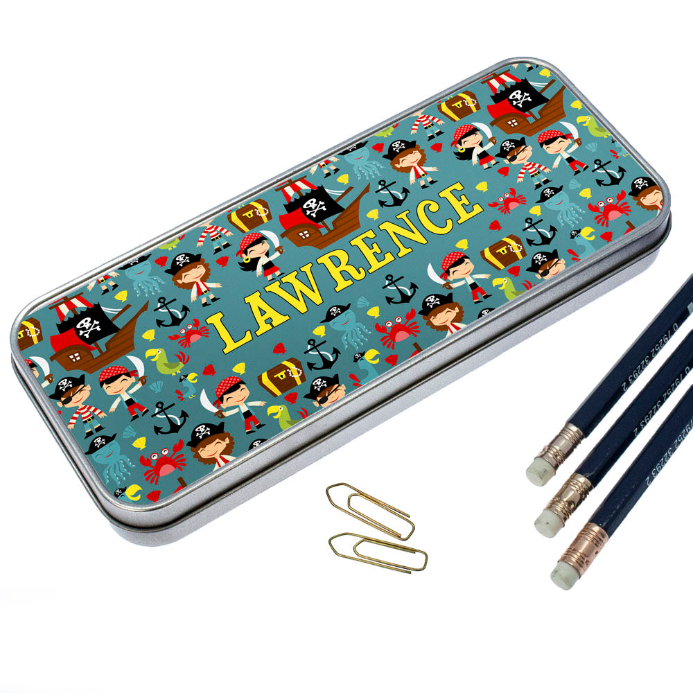 Cute Pirate Pencil Case - treat-republic