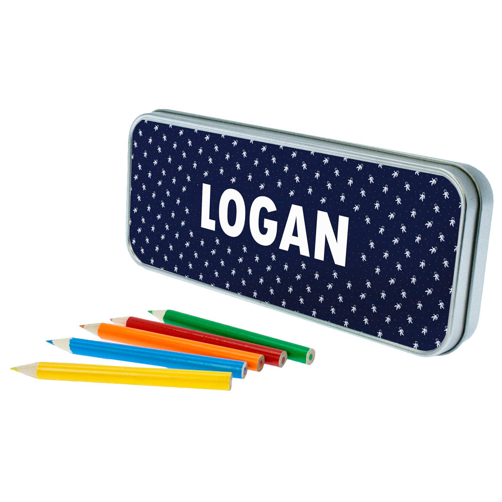 Astronaut Space Themed Pencil Case - treat-republic