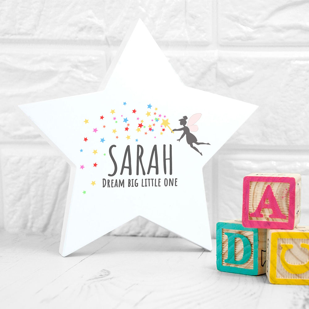Personalised Big Dreams Star Keepsake
