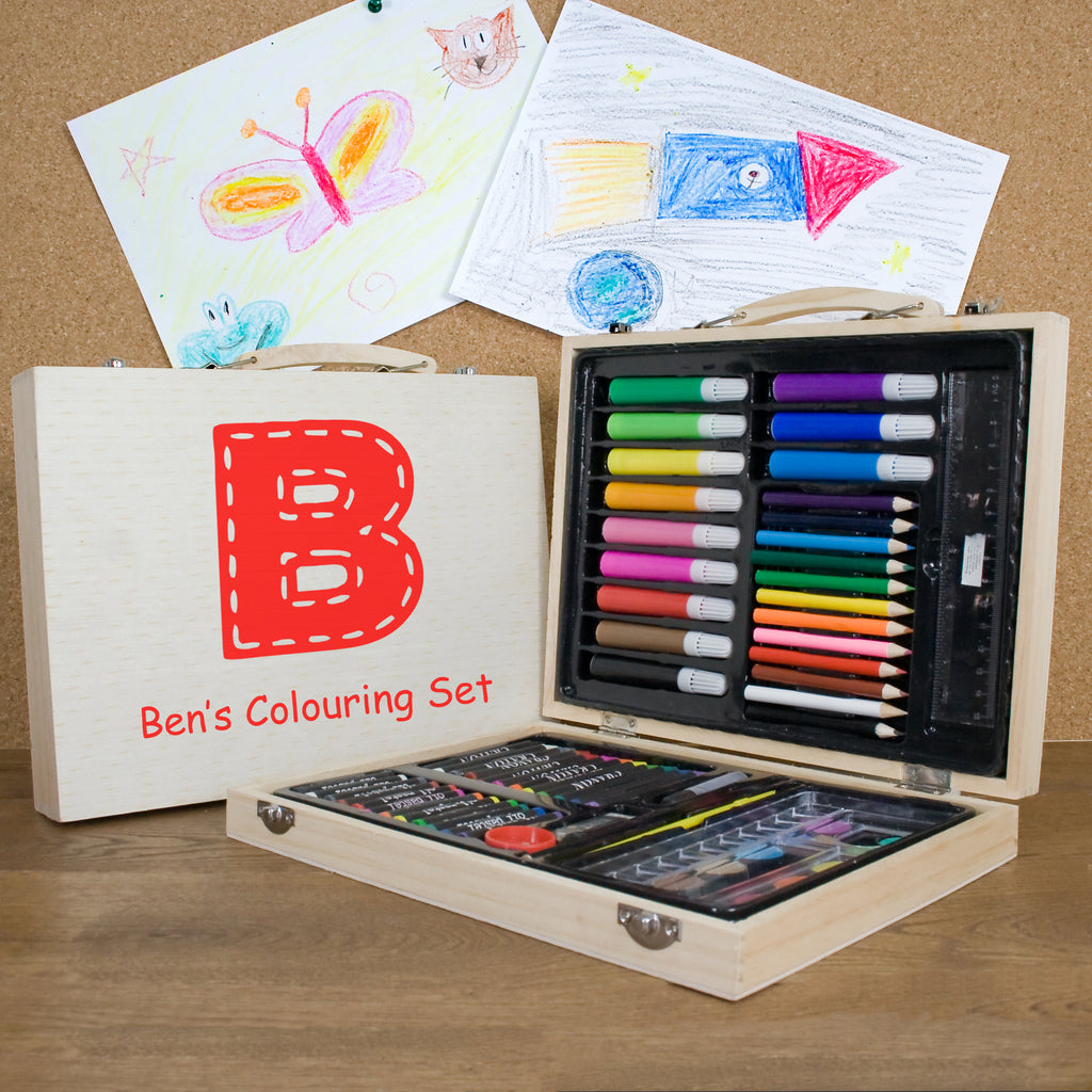 Personalised Children's Colouring In Set - treat-republic