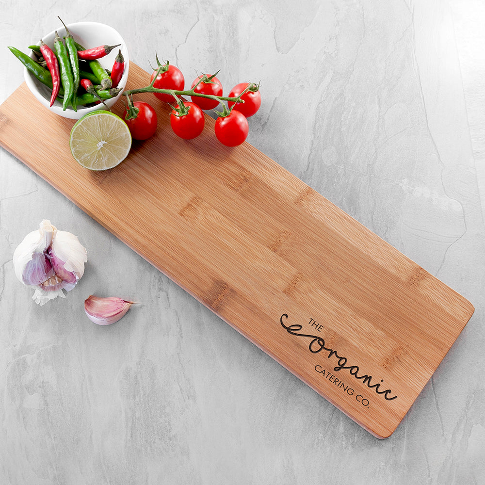 Personalised Custom Logo Serving Board - treat-republic