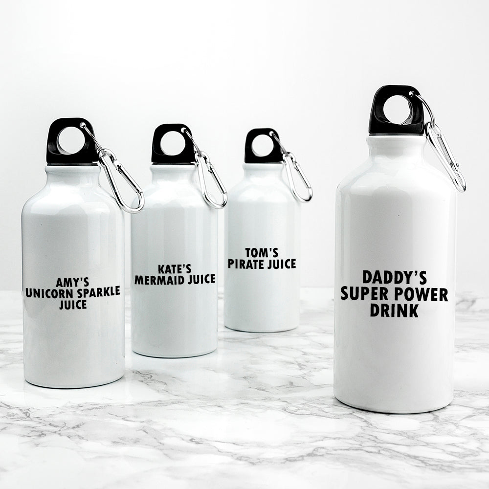 Personalised Daddy & Me Adventure's Together Water Bottles