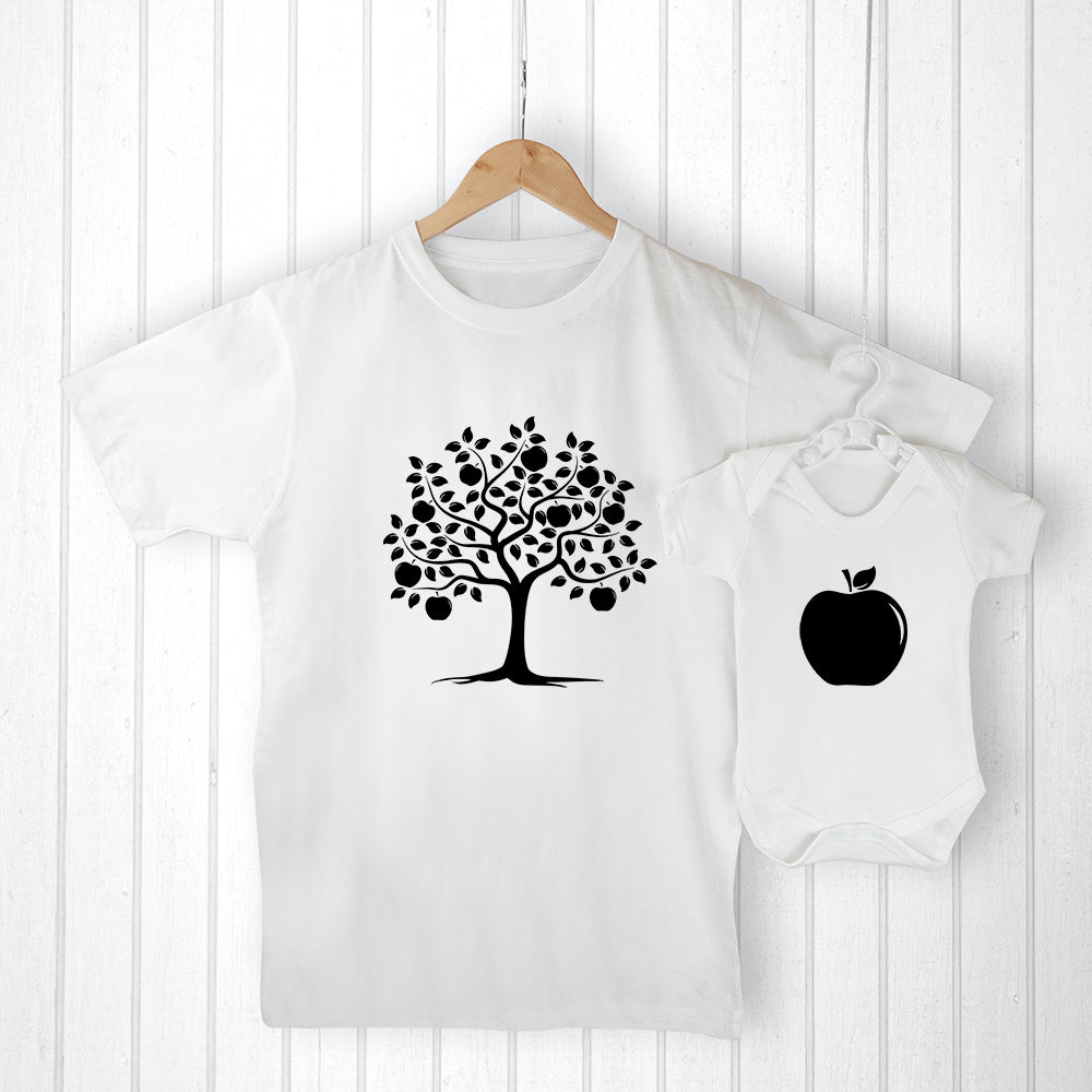 Personalised Daddy and Me Apple Set - treat-republic