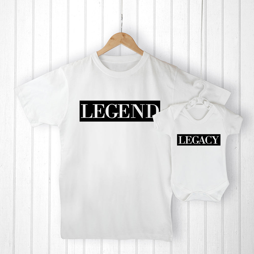 Personalised Daddy and Me Legendary Set