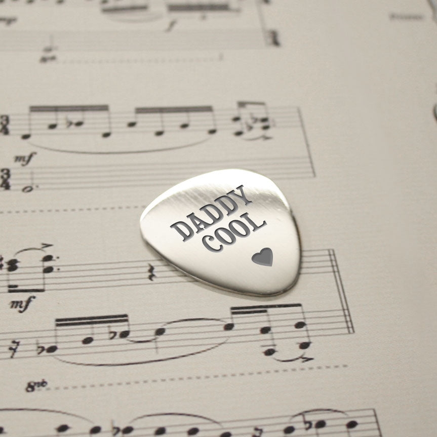 Personalised Daddy Cool Plectrum - treat-republic