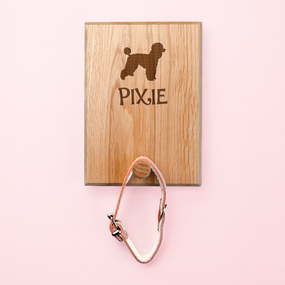 Personalised Dog Silhouette Peg Hook - treat-republic