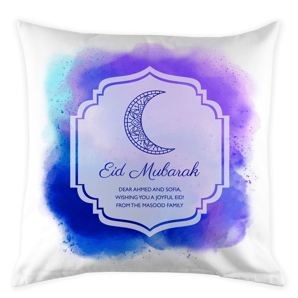 Personalised Eid Mubarak Cushion Cover - treat-republic