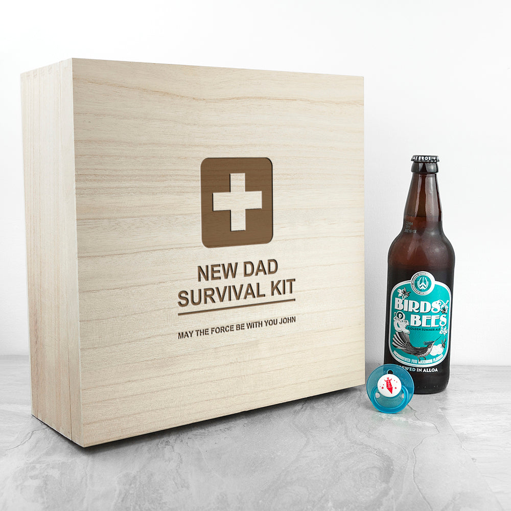 Personalised Emergency New Dad Kit