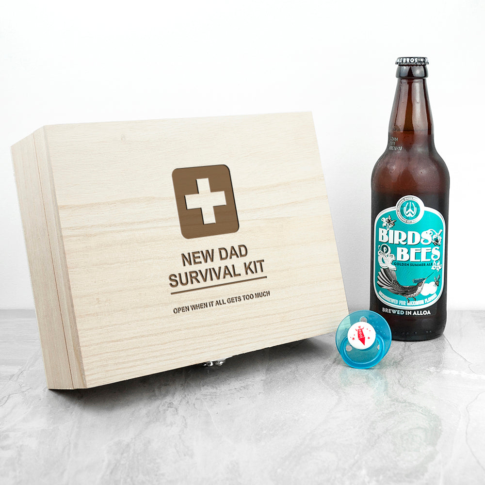 Personalised Emergency New Dad Kit - treat-republic