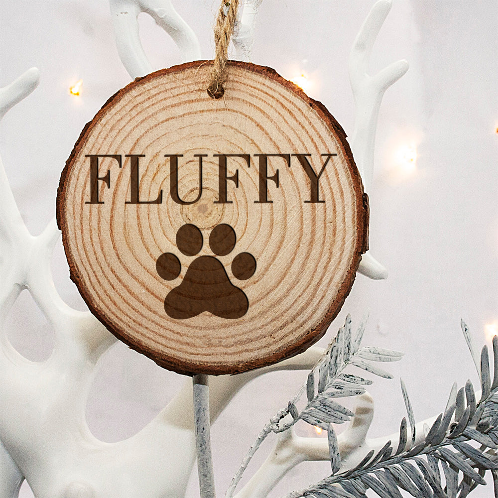 Personalised Engraved Family Cat Christmas Tree Decoration - treat-republic