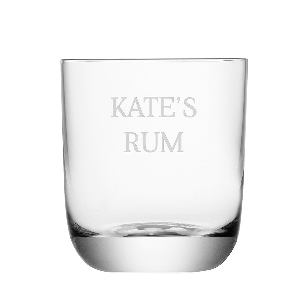 Personalised Hamilton Whiskey Tumbler - treat-republic