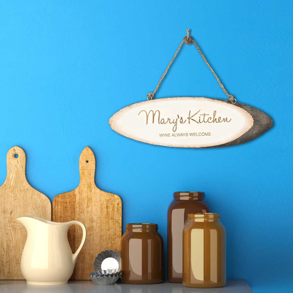 Personalised Handwritten Kitchen Sign - treat-republic