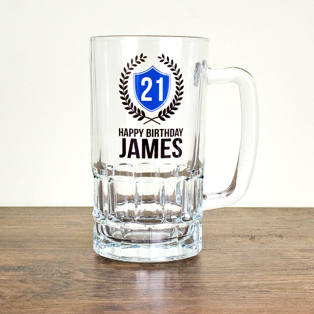 Personalised Happy Birthday Tankard