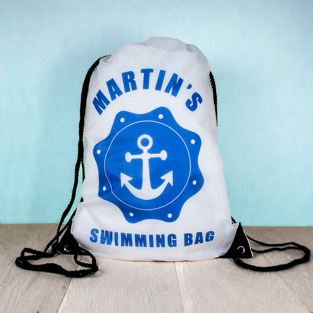 Personalised Kids Drawstring Bag