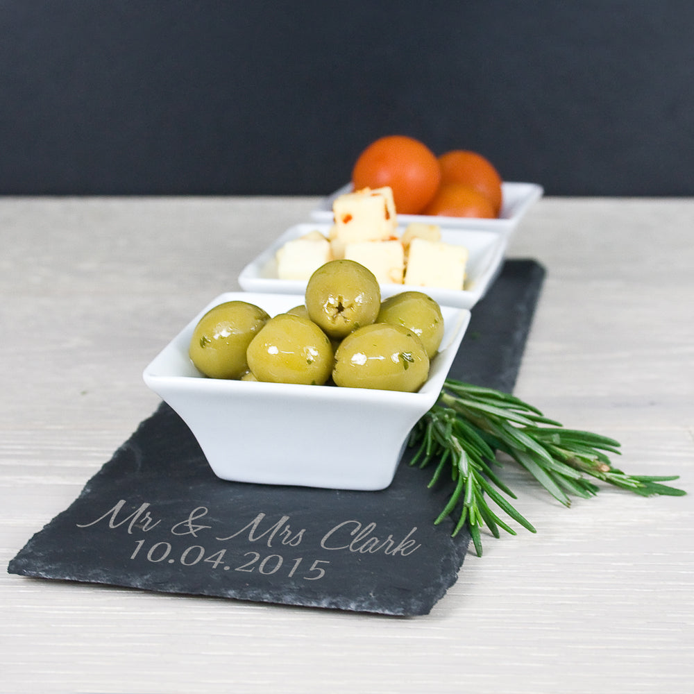 Personalised Meze Serving Platter - treat-republic