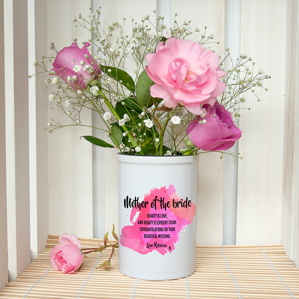 Personalised Mother of the Bride Miniature Champagne Bucket - treat-republic