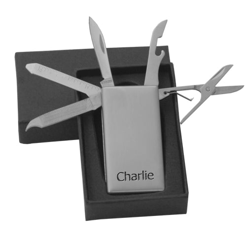 Personalised Multi Tool Money Clip - treat-republic