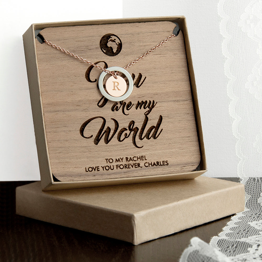 Personalised My World Necklace & Keepsake - treat-republic
