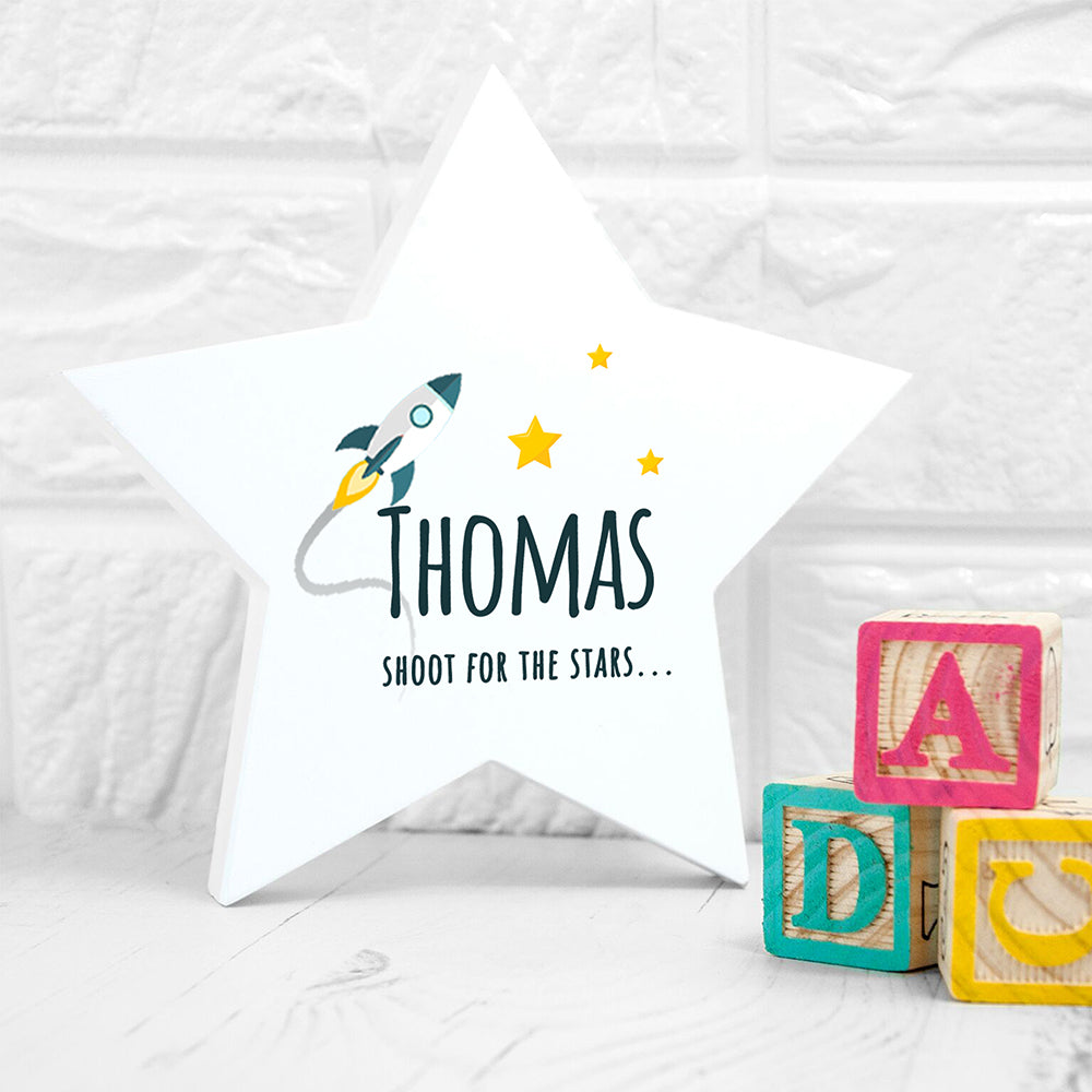 Personalised Rocket to the Stars Keepsake - treat-republic