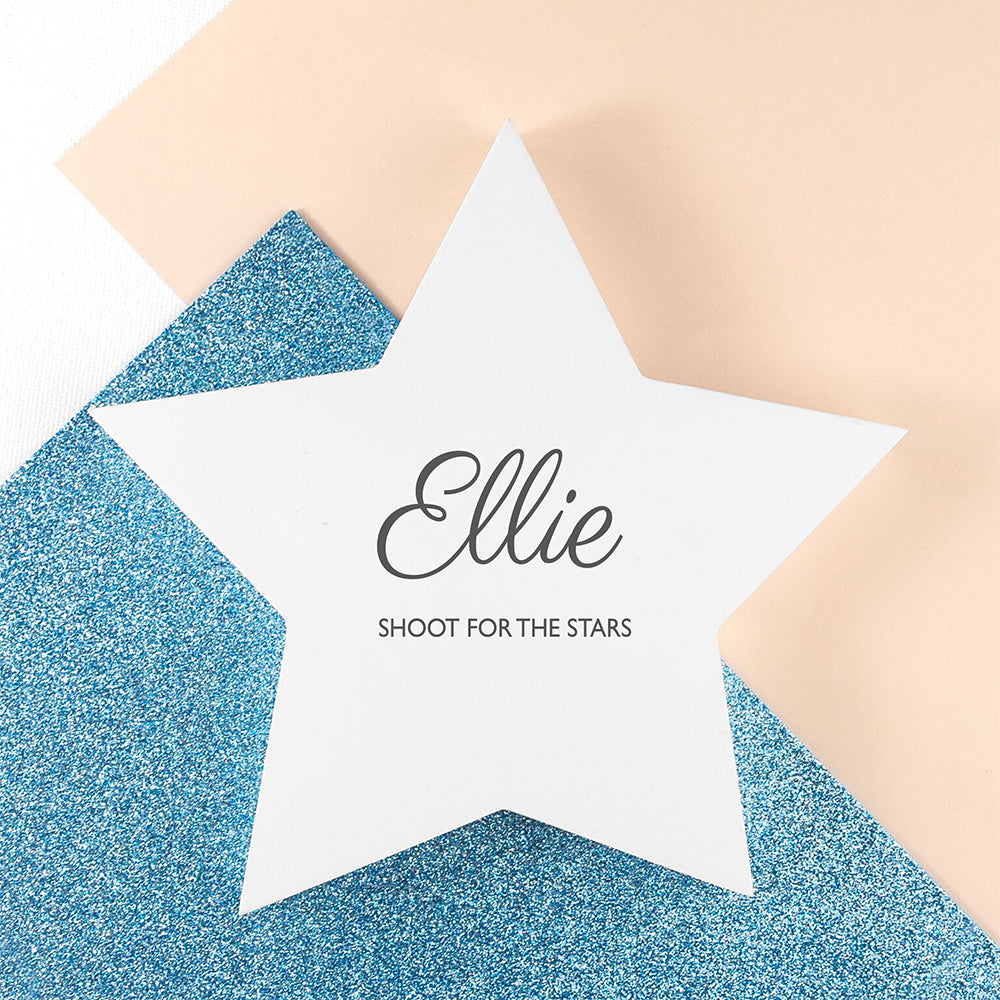 Personalised Shoot for the Stars Keepsake - treat-republic